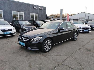 brugt Mercedes C220 d 220 2,1 D Avantgarde 7G-Tronic Plus 170HK Aut.