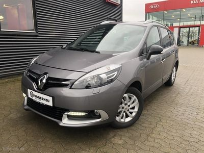 käytetty Renault Grand Scénic 7 pers. 1,5 DCI Limited Edition EDC 110HK 6g Aut.