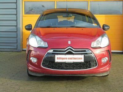 brugt Citroën DS3 Cabriolet 1,2 VTi 82 Design