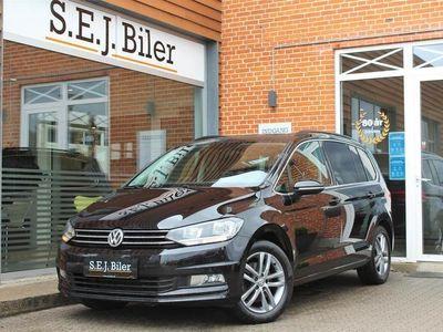 brugt VW Touran 7 Sæder 1,4 TSI BMT Comfortline 150HK 6g B
