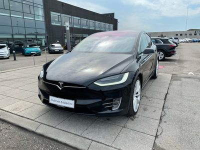 brugt Tesla Model X P90D EL 4x4 772HK 5d Aut.