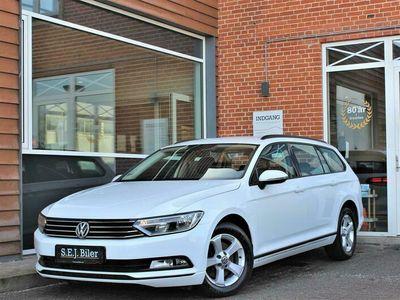brugt VW Passat Variant 1,6 TDI BMT Trendline 120HK Stc 6g A+