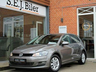 brugt VW Golf VII 1,6 TDi Trendline DSG BMT 110HK aut 5d
