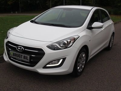 brugt Hyundai i30 1,6 CRDi 110 Life+ DCT