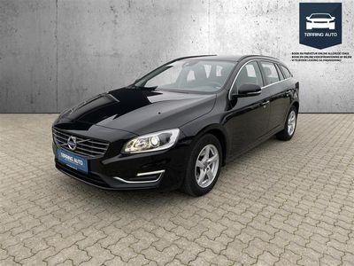 brugt Volvo V60 2,0 D3 Momentum 150HK Stc 6g - Personbil - Sort