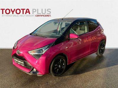 brugt Toyota Aygo 1,0 VVT-I X-Cite 72HK 5d A+++