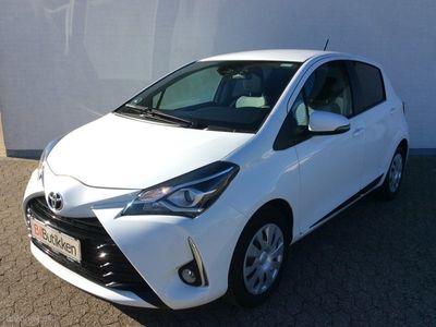 brugt Toyota Yaris 1,5 VVT-I T2 Premium 111HK 5d 6g