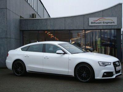brugt Audi A5 Sportback 2,0 TDi 190 S-line quattro S-tr