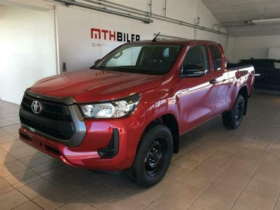 brugt Toyota HiLux Extra Cab 2,4 D-4D T2 AWD 150HK Pick-Up 6g