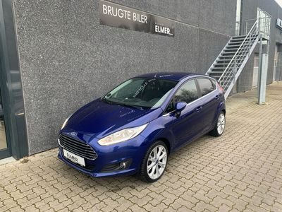 brugt Ford Fiesta 1,0 EcoBoost Titanium Start/Stop 125HK 5d A+