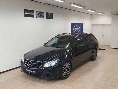 brugt Mercedes E220 2 BlueTEC stc. aut.