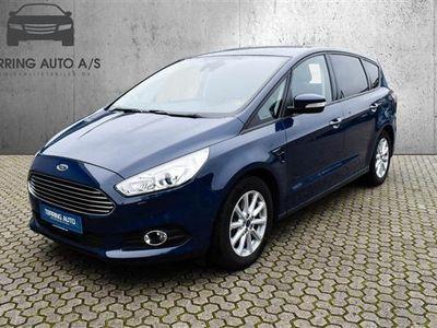 brugt Ford S-MAX 2,0 TDCi Trend Powershift 150HK 6g Aut. - Personbil - mørkblå