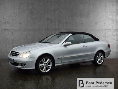 brugt Mercedes CLK200 1,8 Kompressor 183HK Cabr. 6g