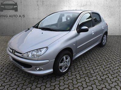 brugt Peugeot 206 S-Line 1,4 HDI 70HK 5d - Personbil - sølvmetal