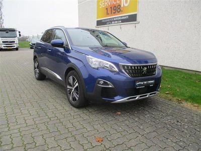 brugt Peugeot 3008 1,6 BlueHDi Allure 120HK 6g 23,8km/l