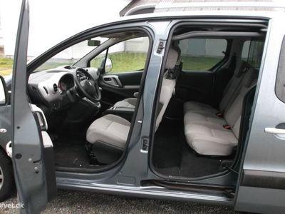 brugt Peugeot Partner 1,6 HDI Tepee Comfort Plus 90HK
