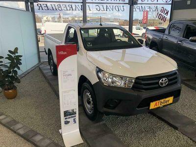 brugt Toyota HiLux Single Cab 2,4 D-4D T2 AWD 150HK Pick-Up 6g D