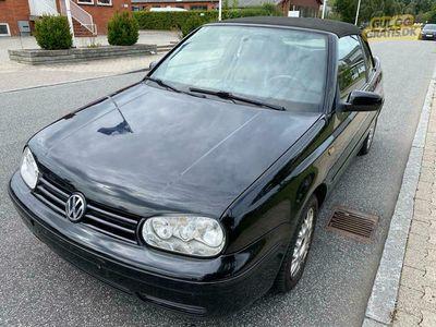 brugt VW Golf Cabriolet 1.6