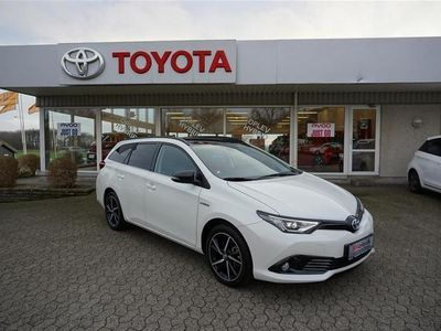 brugt Toyota Auris Touring Sports 1,8 B/EL H2 Selected Bi-tone 136HK Stc Aut.