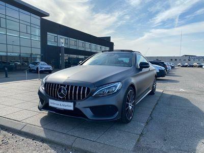brugt Mercedes C43 AMG AMG 3,0 4-Matic 9G-Tronic 367HK 2d 9g Aut.