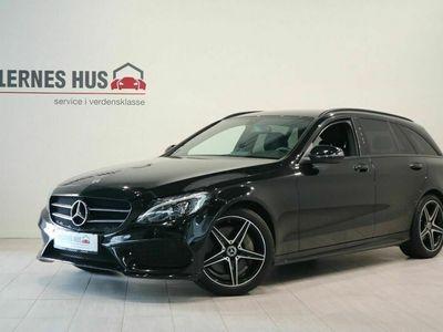 brugt Mercedes C250 AMG Line stc. aut.