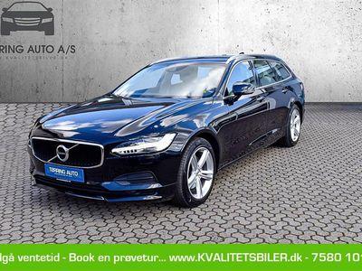 brugt Volvo V90 2,0 D4 Momentum 190HK Stc 8g Aut. - Personbil - sortmetal