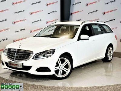 brugt Mercedes E200 2 CDi stc. aut.