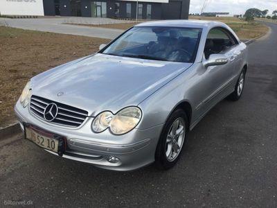 usado Mercedes CLK240 2,6 170HK 2d Aut.