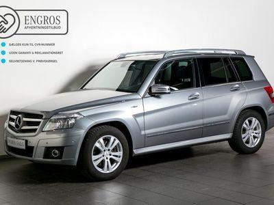 brugt Mercedes GLK220 2,2 CDi aut. 4-M BE Van