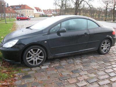 brugt Peugeot 307 CC 2,0 136HK Cabr.