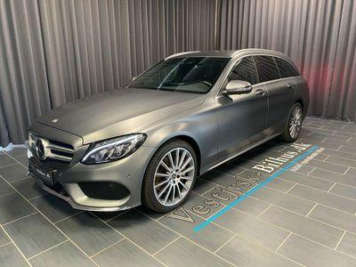 brugt Mercedes C250 d AMG Line stc. aut. 4-M
