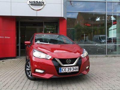 brugt Nissan Micra 1,0 IG-T Acenta Comfort Pack Start/Stop 100HK 5d