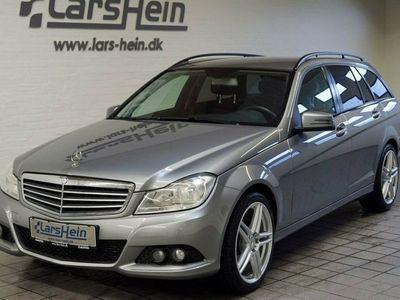 gebraucht Mercedes C200 2,2 CDi stc. aut. BE