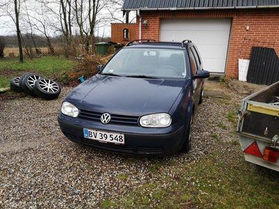 brugt VW Golf Variant 1,6 105HK Stc