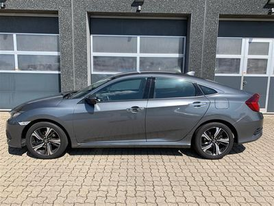 brugt Honda Civic 1,6 i-DTEC Elegance Navi 120HK 6g