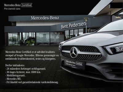 brugt Mercedes V250 d Lang 2,0 CDI 9G-Tronic 190HK 9g Aut.