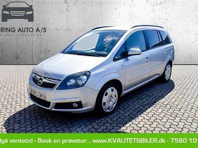 brugt Opel Zafira 1,9 CDTI Enjoy 120HK 6g Aut. - Personbil - sølvmetal - 7 pers.