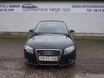brugt Audi A4 2,0 TDi 140 S-line 4d