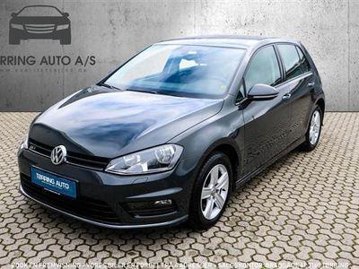 brugt VW Golf 1,4 TSI BMT R-Line DSG 150HK 5d 7g Aut. - Personbil - mørkgrå