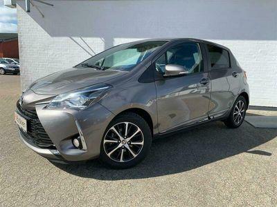 brugt Toyota Yaris 1,0 VVT-I T2 Limited 72HK 5d A+