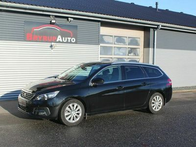 brugt Peugeot 308 1,6 BlueHDi 120 Selection Sky SW