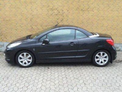 brugt Peugeot 207 CC 1,6 HDI 109HK Cabr.