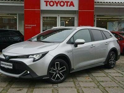 brugt Toyota Corolla Touring Sports 1,8 B/EL H3 TREK Smart E-CVT 122HK