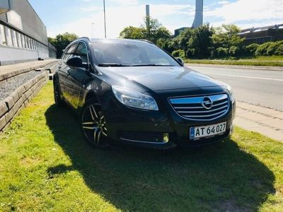 brugt Opel Insignia 2,0 CDTi 160 Cosmo ST eco