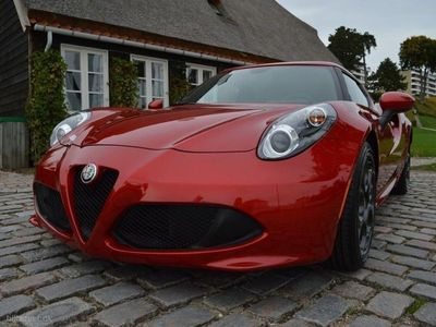 brugt Alfa Romeo 4C 1,7 Turbo TCT 240HK 2d 6g Aut.