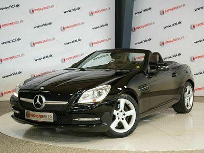 brugt Mercedes SLK250 SLK250CDi aut. BE CDi aut. BE
