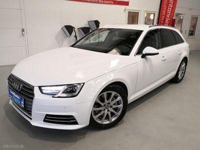 brugt Audi A4 Avant 2,0 TDI Sport Edition Plus S Tronic 190HK Stc 7g Aut.