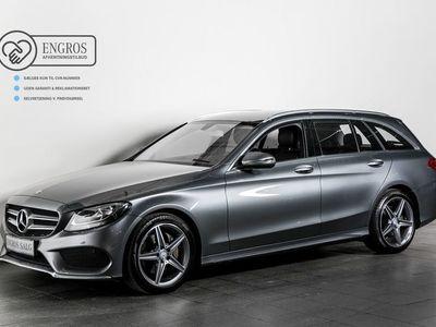 brugt Mercedes C220 d 2,2 AMG Line stc. aut.