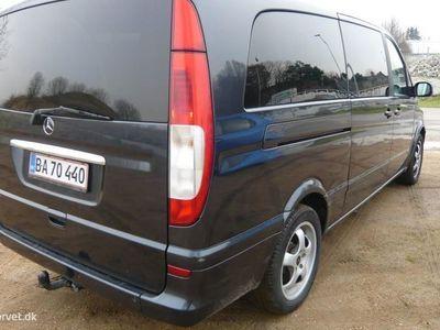 brugt Mercedes Viano Extra Lang 2,2 CDI Ambiente 150HK 6g