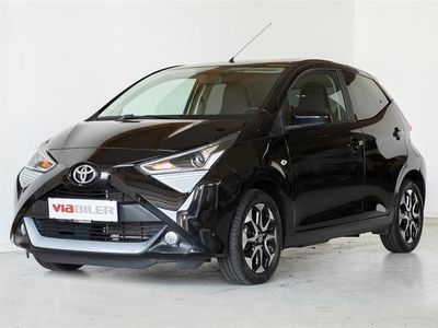 brugt Toyota Aygo 1,0 VVT-I X-Play X-Cellence Connect 72HK 5d